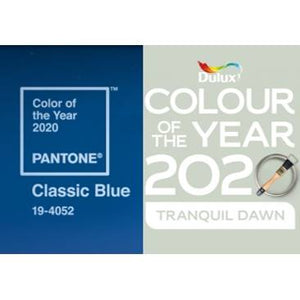Pantone & Dulux Colours of the Year 2020