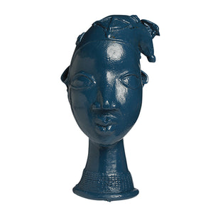 Zaffre Blue Lobi Head with Hat