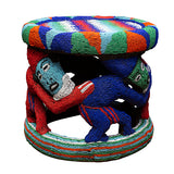 Bamileke Beaded Stool II