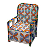 Yoruba Beaded Throne Chair I