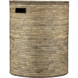 Beige Brown Hamper