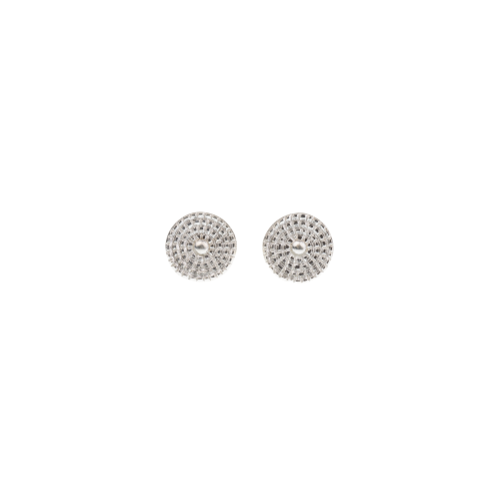 Chakra Stud Earrings Silver