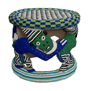 Bamileke Beaded Stool III