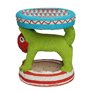 Bamileke Beaded Stool IV