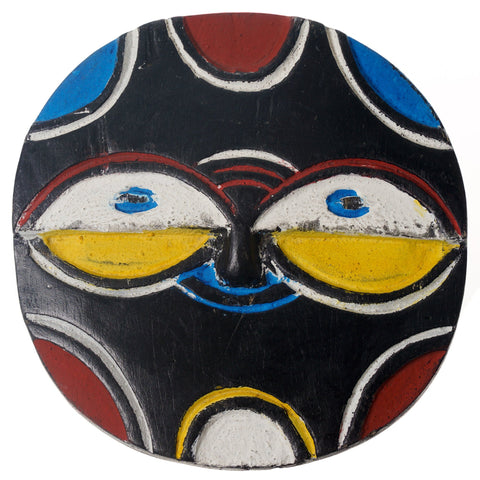 Black and White Ivorian Mask