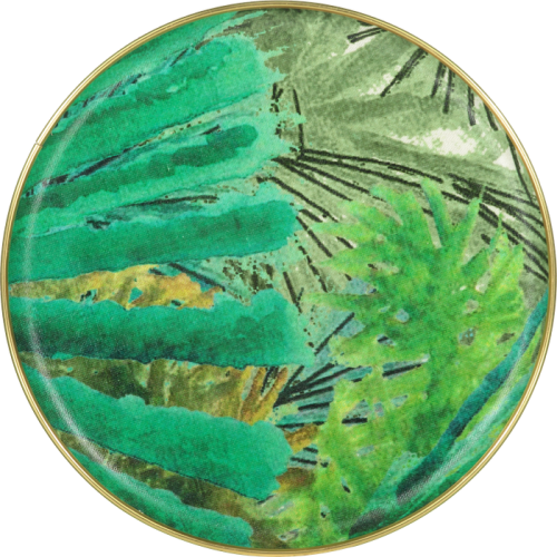 Fanjul Natural Palm Round Tray