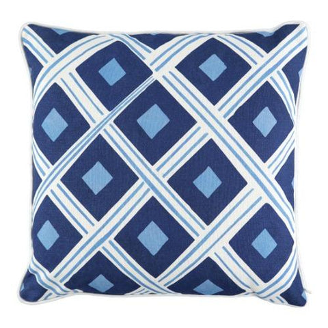 Sierra Bay |  Peacock Blue Large Cushion