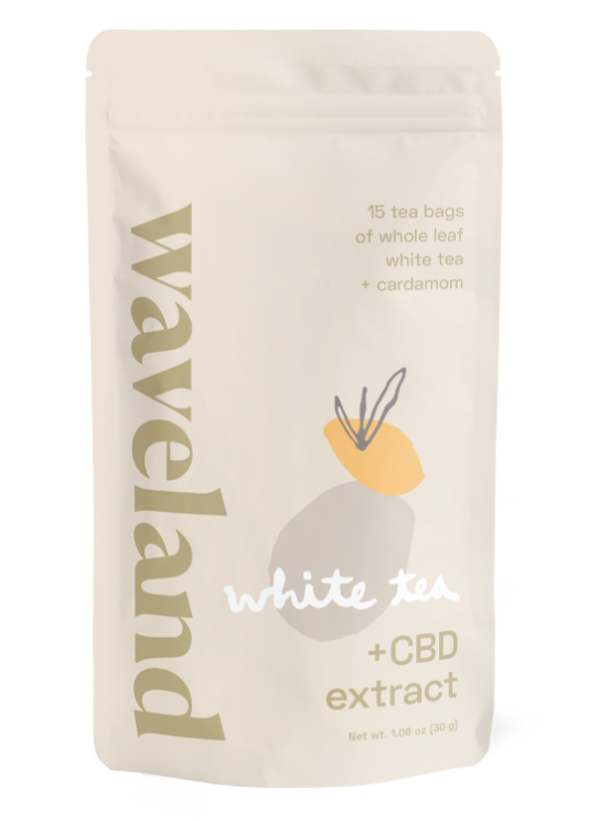 CBD white tea
