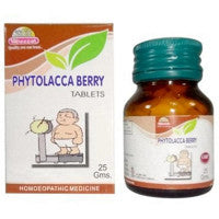 Wheezal Phytolacca Berry Tablet-1