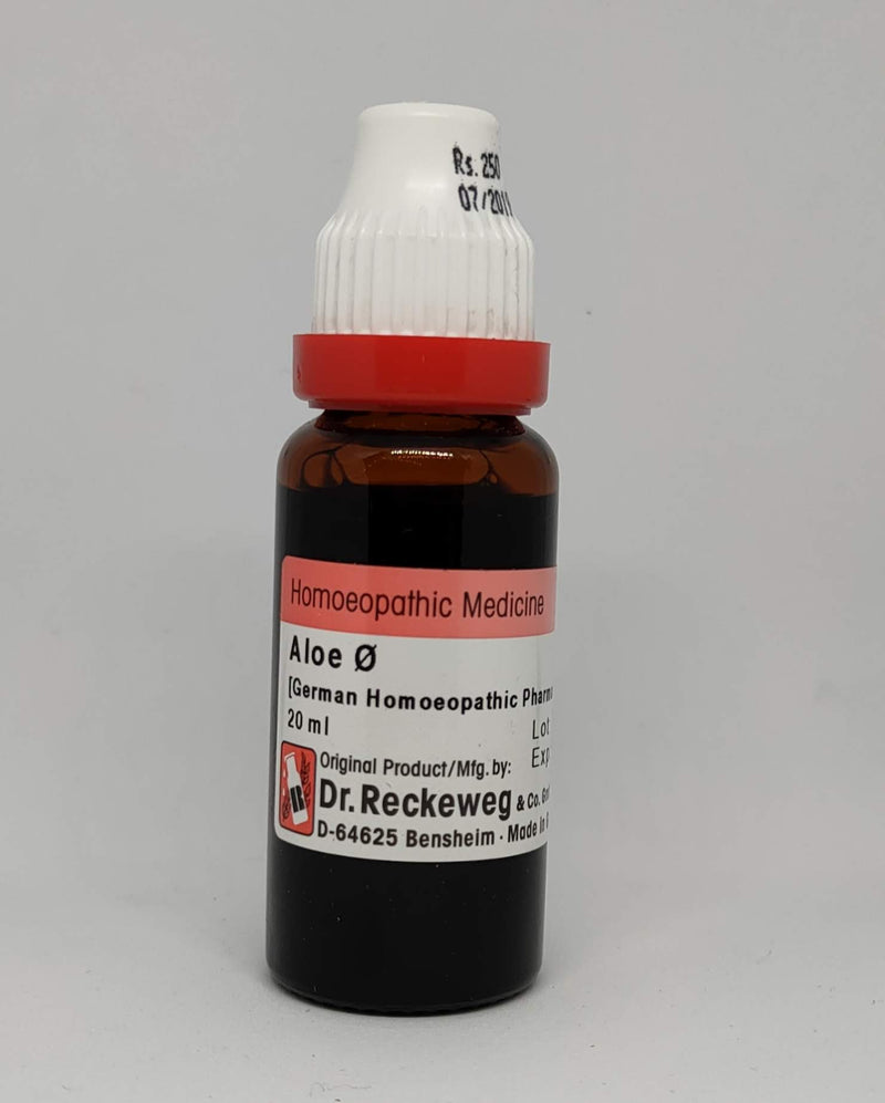 Dr. Reckeweg Aloe Soc Mother Tincture
