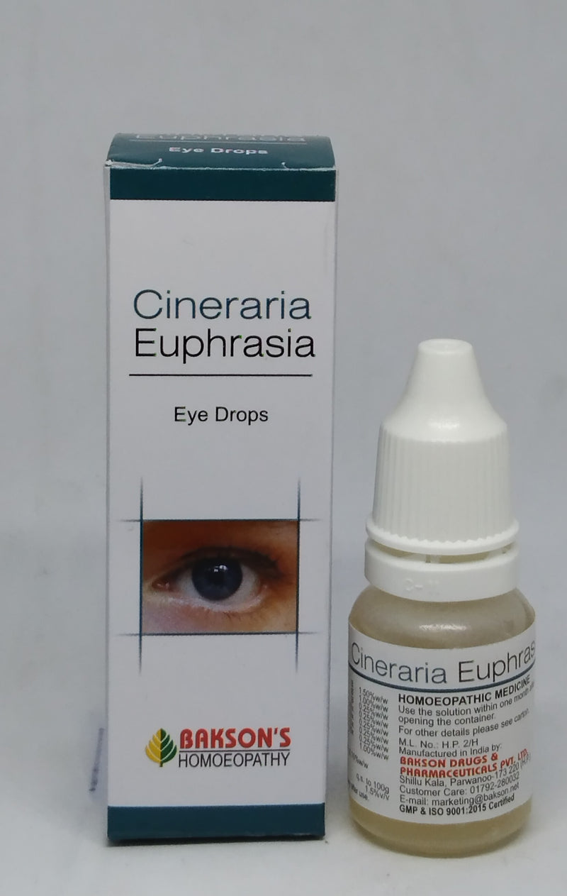 Bakson's Cineraria Euphrasia Eye Drop