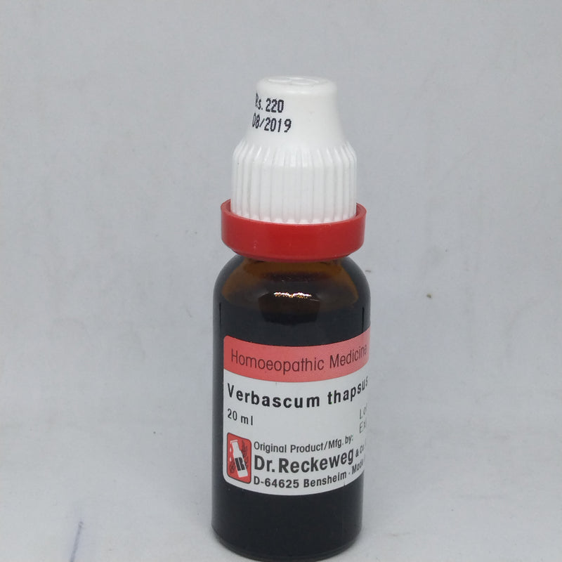 Dr. Reckeweg Verbascum Mother Tincture