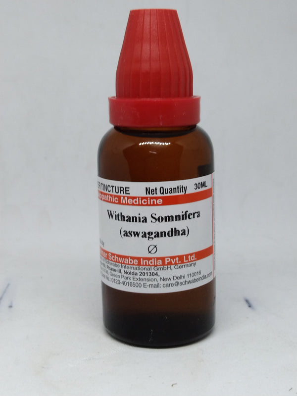 Dr Willmar Schwabe India Withania Somnifera Mother Tincture