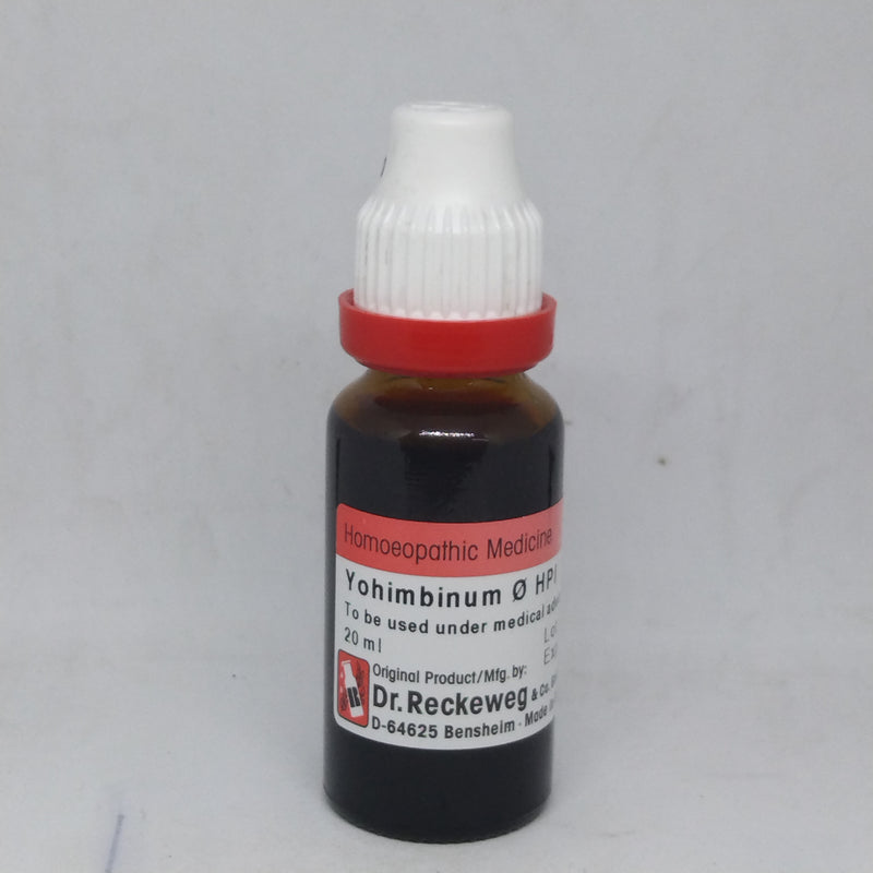 Dr. Reckeweg Yohimbinum Mother Tincture