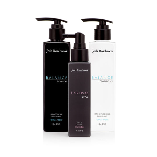 Balance Hair Spray Trio