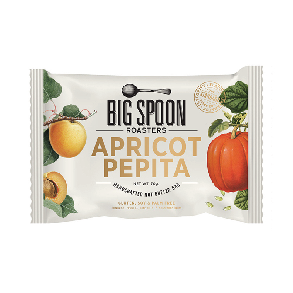 Big Spoon Roasters Apricot Pepita Nut Butter Bar 2.12oz (12ct)
