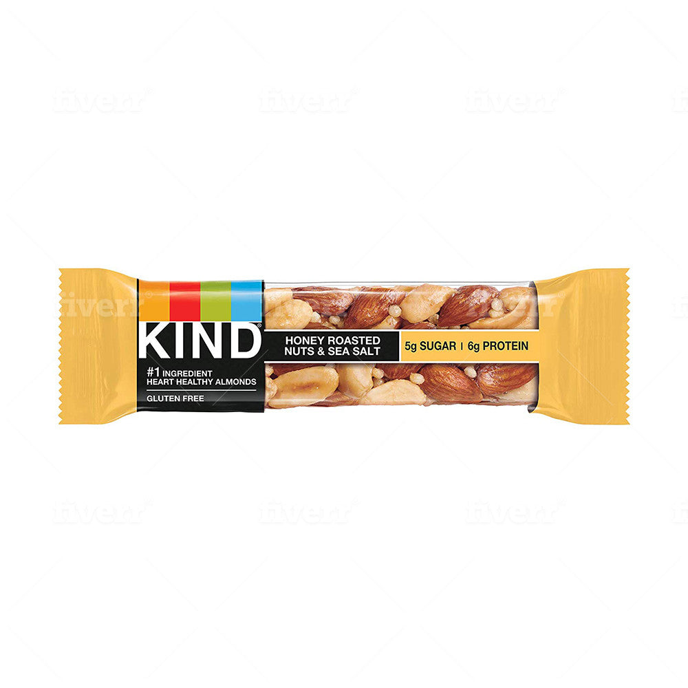 KIND Honey Roasted Nuts & Sea Salt Bar 1.4oz (12ct)