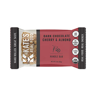 "Kate's Real Food ""Handle"" Dark Chocolate Cherry & Almond Oat Energy Bar 2.2oz (12ct)"