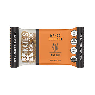 "Kate's Real Food ""Tiki"" Mango Coconut Oat Energy Bar 2.2oz (12ct)"