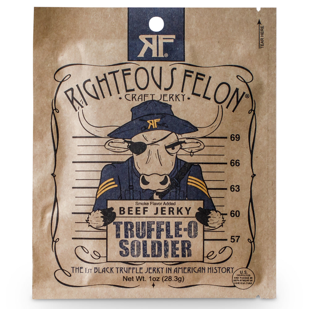 Righteous Felon 1oz Truffle-O Beef Jerky (16ct)