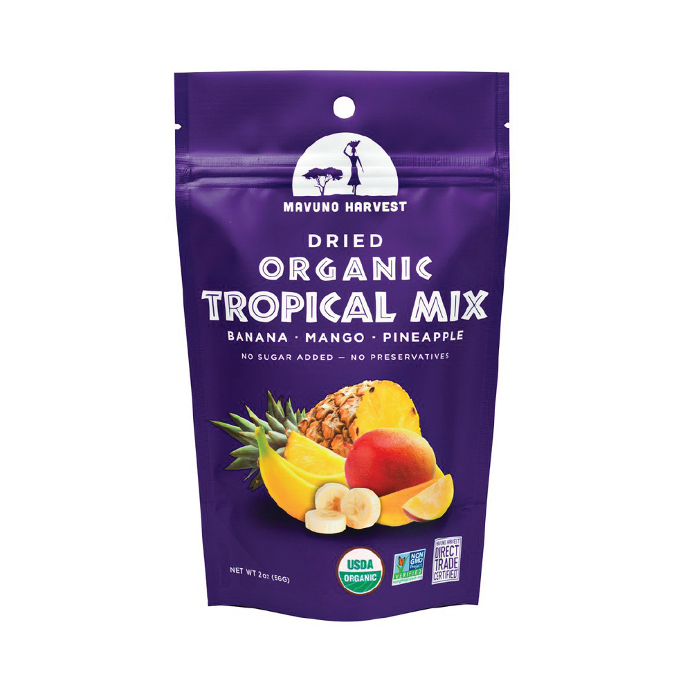 Mavuno Harvest Organic Dried Tropical Mix 2oz (6ct)