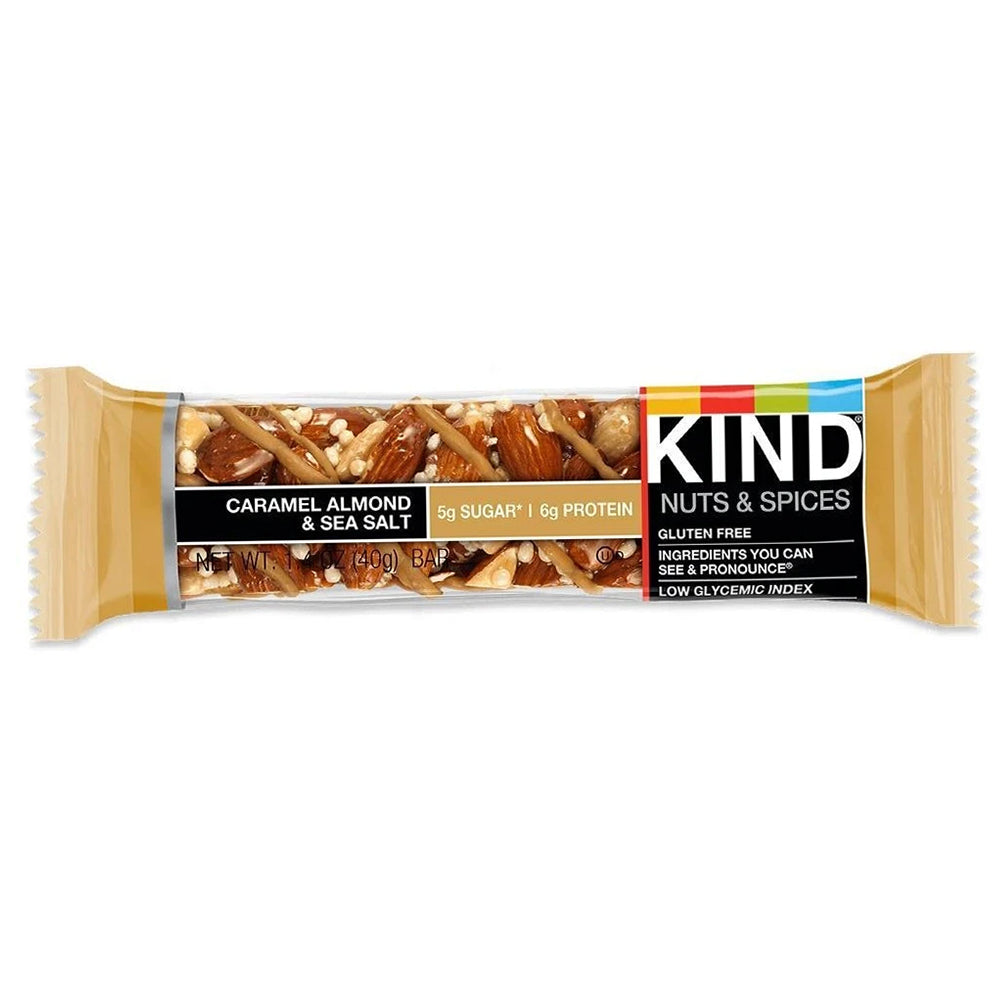 KIND Caramel Almond & Sea Salt Bar 1.4oz (12ct)