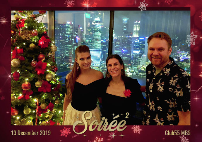 13 Dec 2019 - The Soirée 2 Christmas Party At Marina Bay Sands