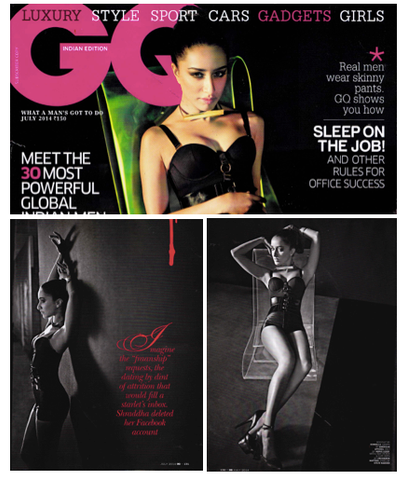 Shraddha Kapoor in GQ India - July 214