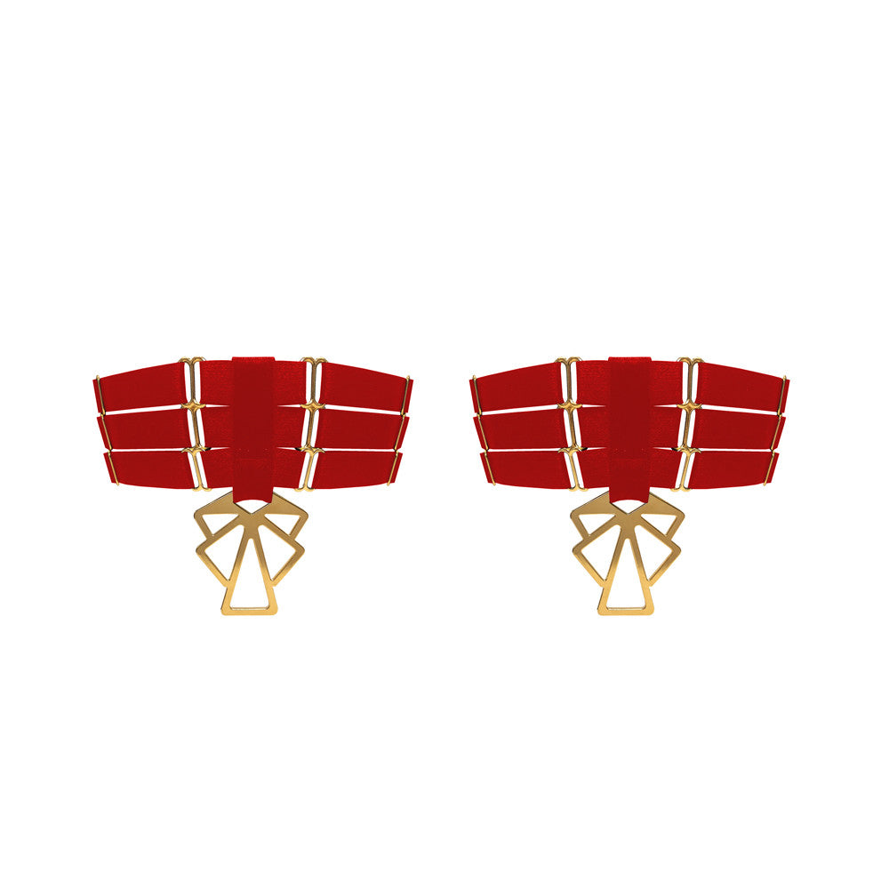 Art Deco Garters (Pair)