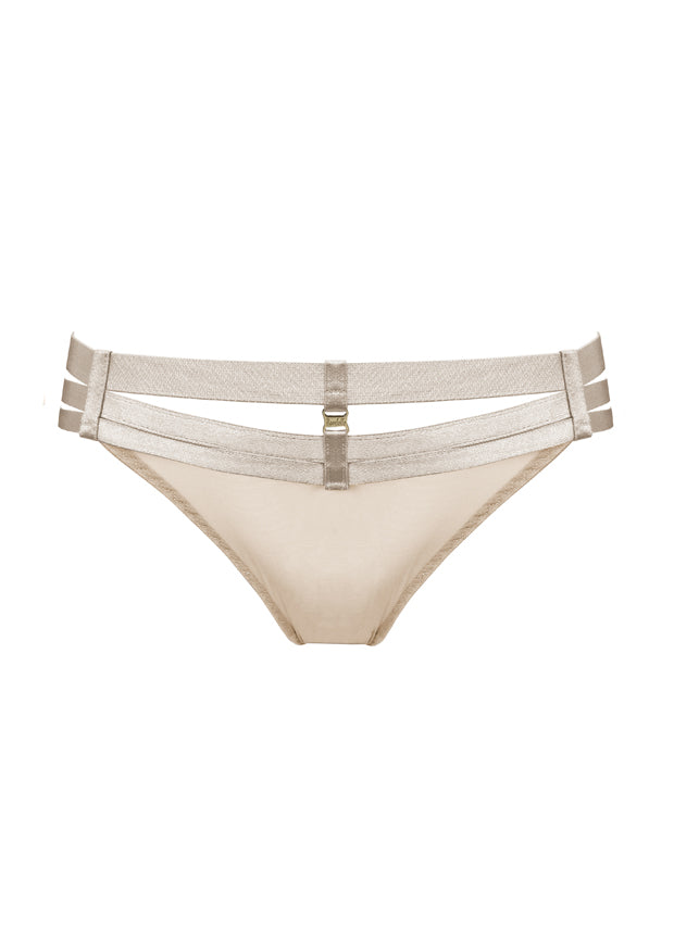 Art Deco Multi-Strap thong