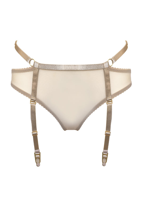 Bondage-Belle Suspender Brief