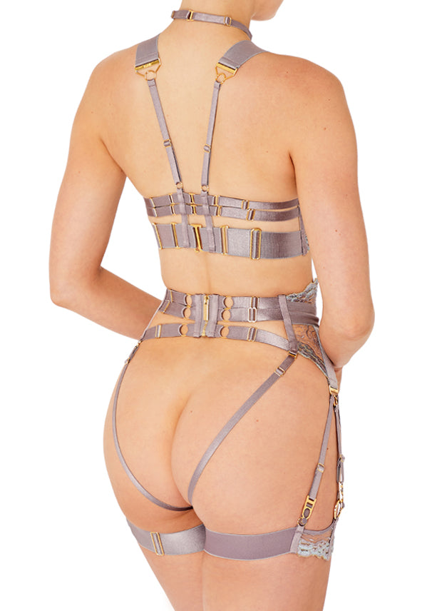 Kea Ouvert Suspender Brief