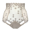 Square Lace High Waist Brief
