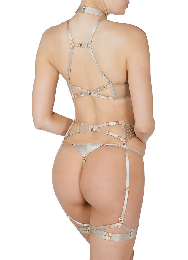 Tomoe Ouvert Wire Bra