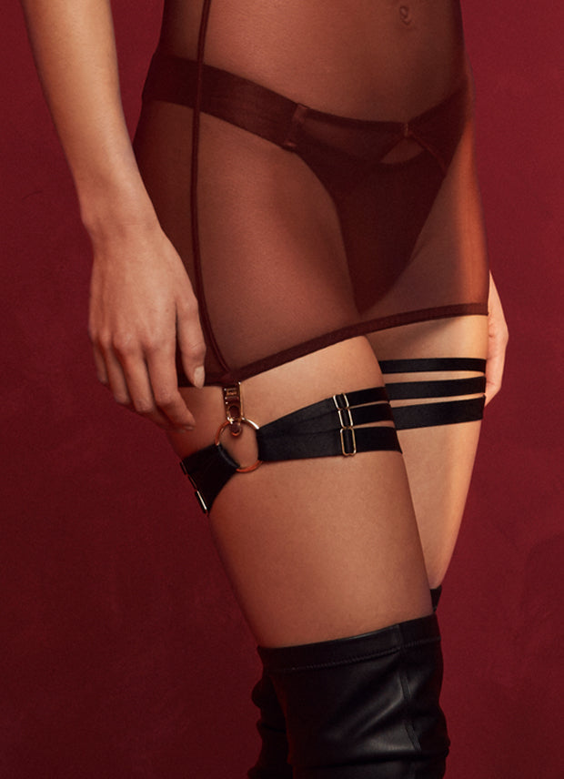 Merida Multi Strap Garters (Pair)