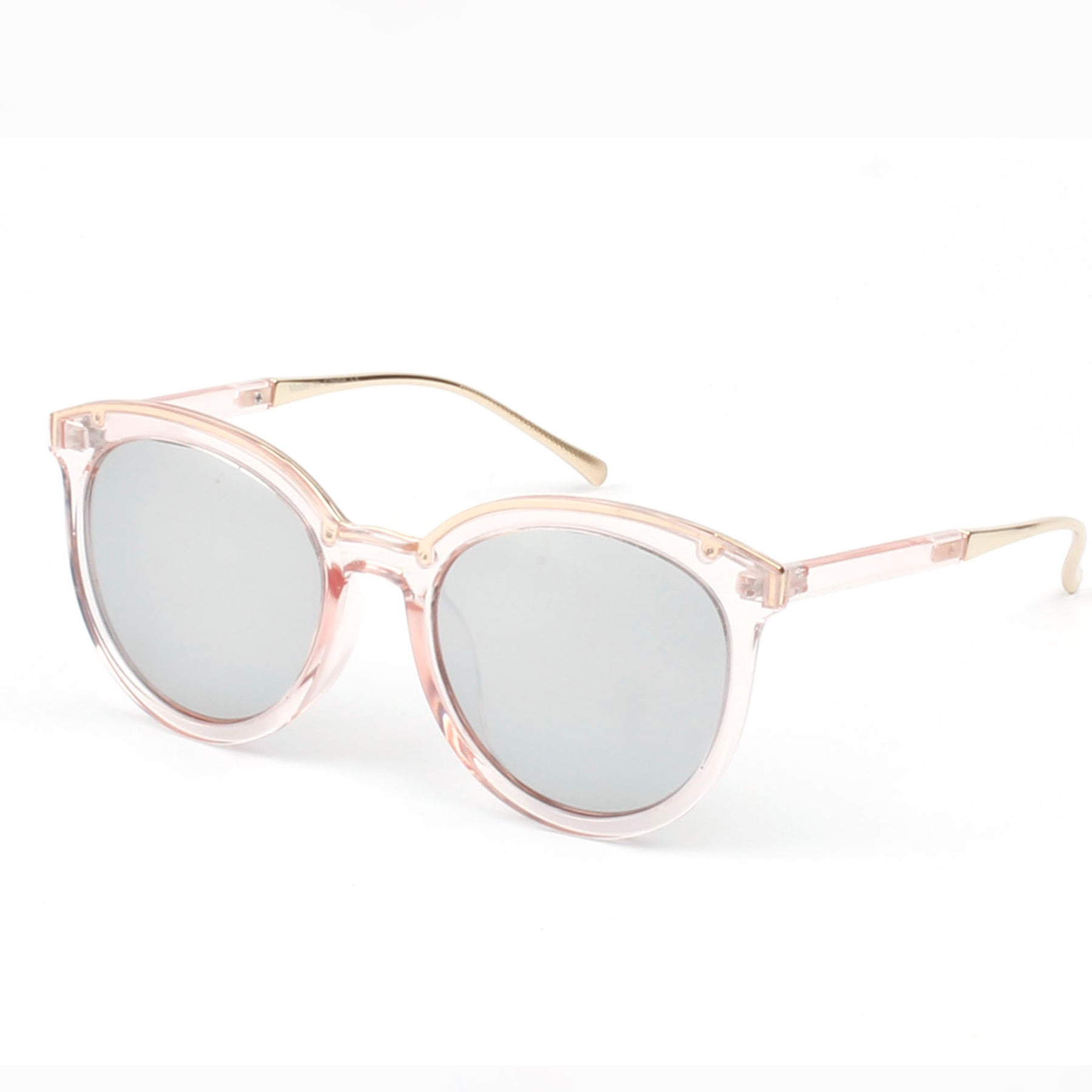 CAIRNS SUNGLASS IN PINK WITH MIRROR