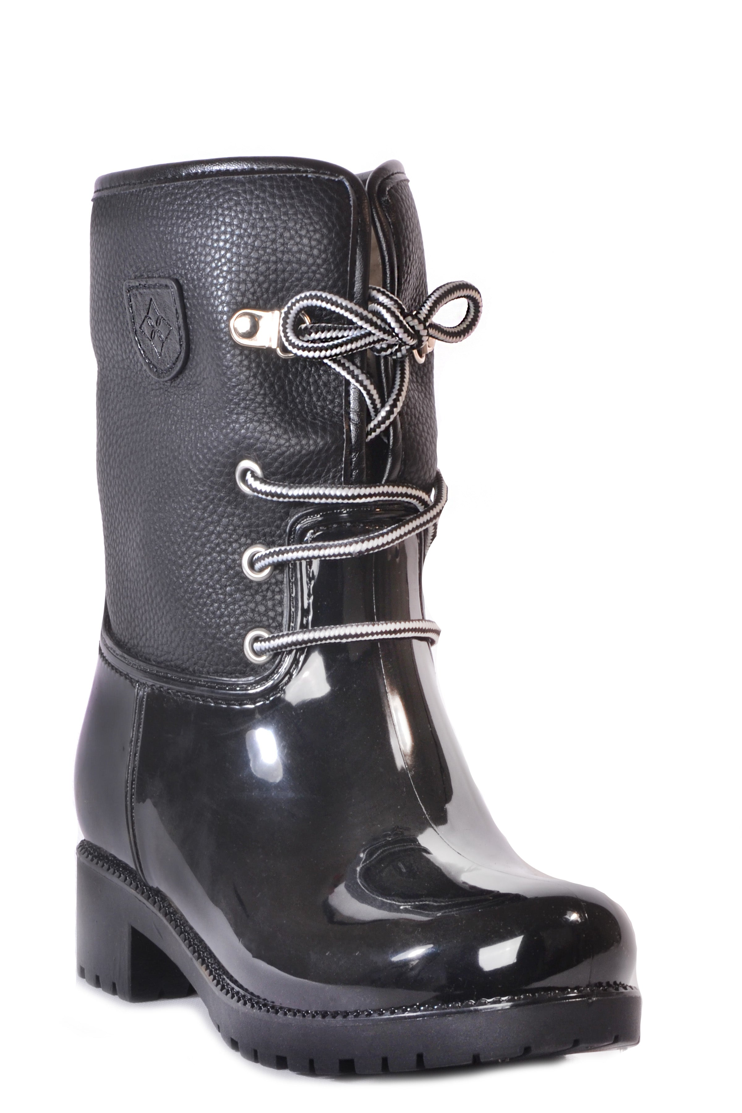 dav rain boot Calgary wear laced for sport look