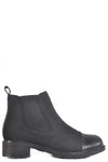 waterproof breathable nylon bootie with luxury fleece lining