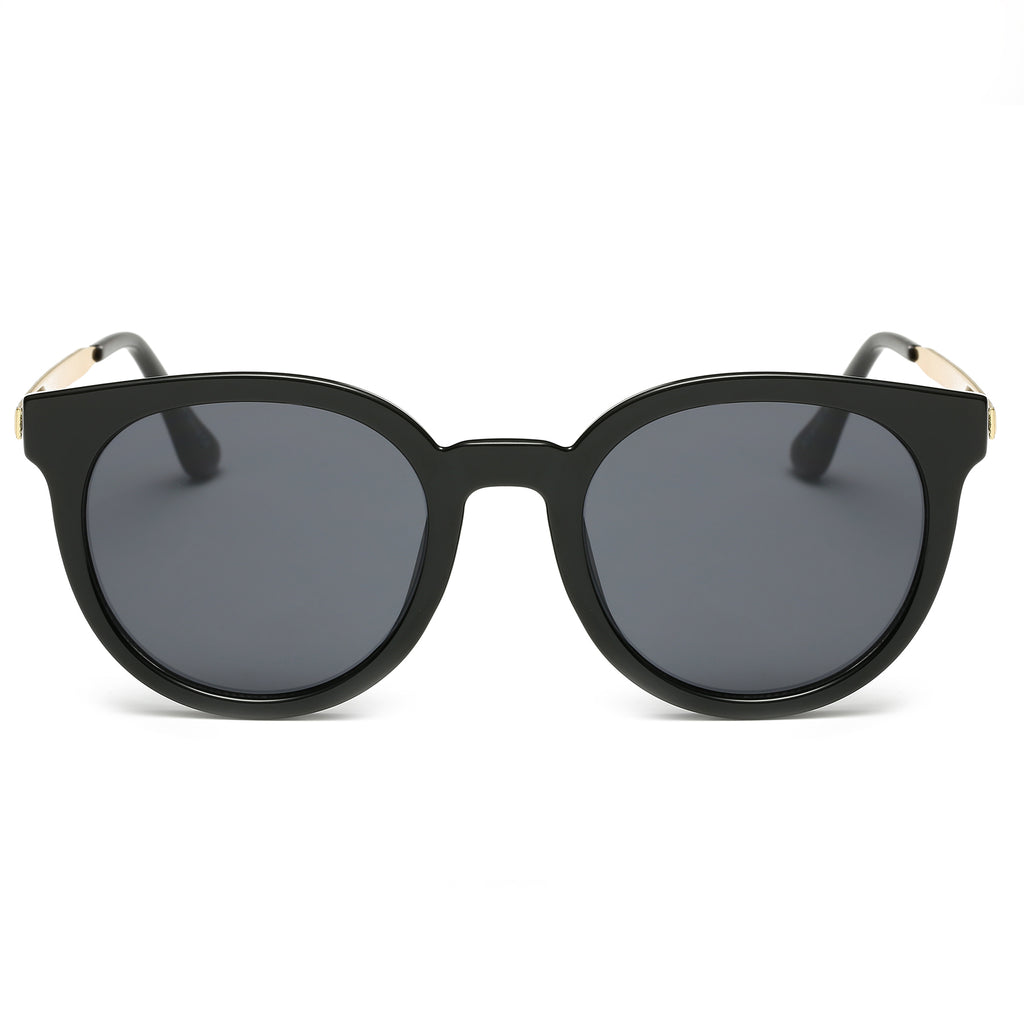 IBIZA CAT-EYE SUNGLASS IN BLACK