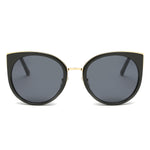 PALISADES SUNGLASS IN BLACK with GRAY LENSES