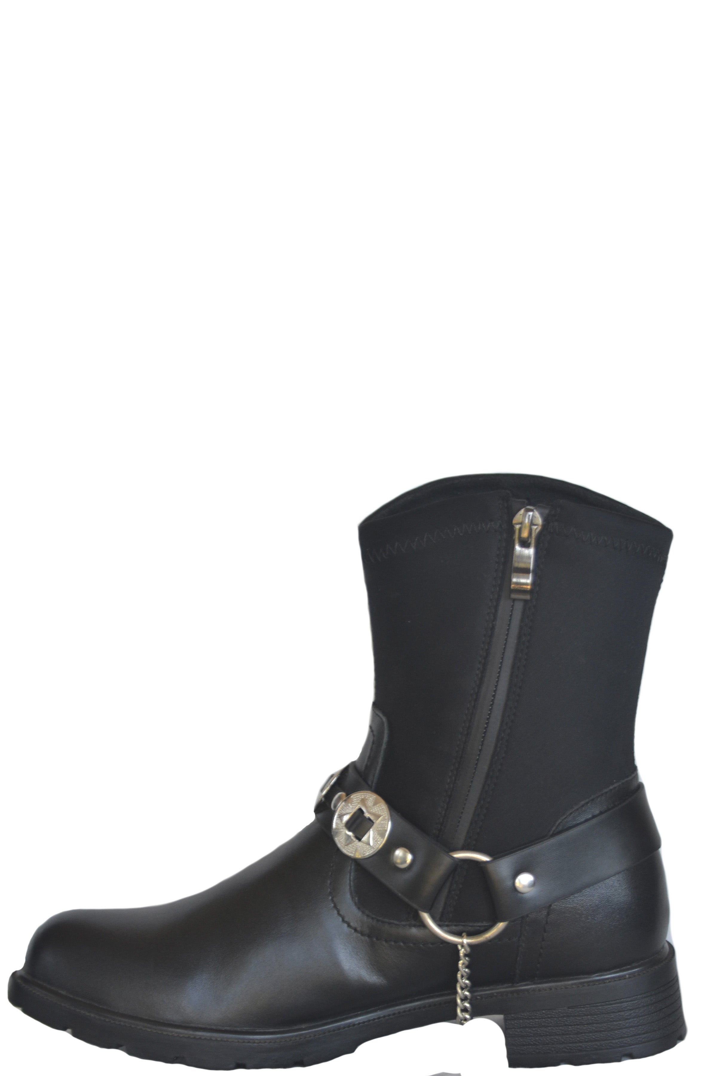 VIRGINIA BREATHABLE WATERPROOF NYLON BOOT WITH CONCHO BELT