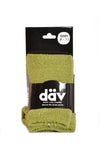 Over-the-Knee Sock Chenille Lime