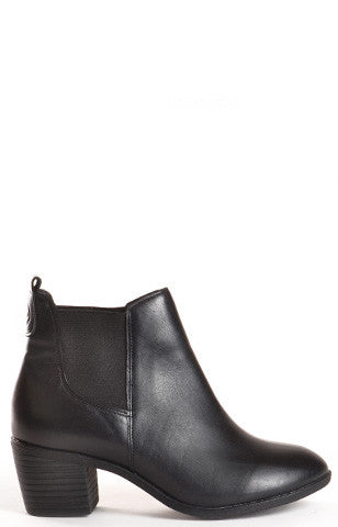 Sienna Leather Black