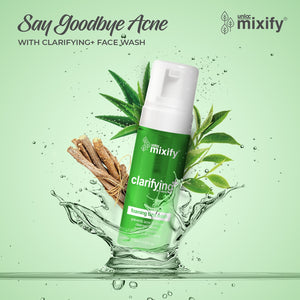 Mixify Unloc Clarifying+ (Anti Acne) Foaming Face Wash Cleanser - 100ml