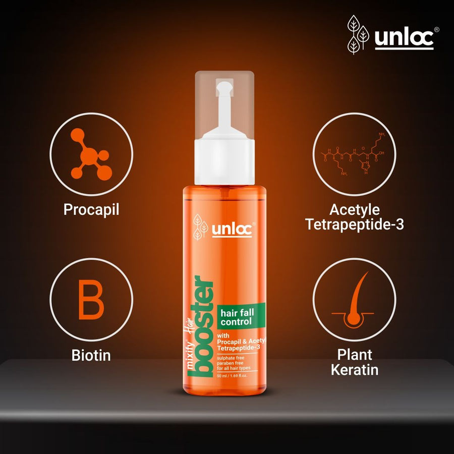 Unloc Mixify Hairfall Control Booster, 50ml