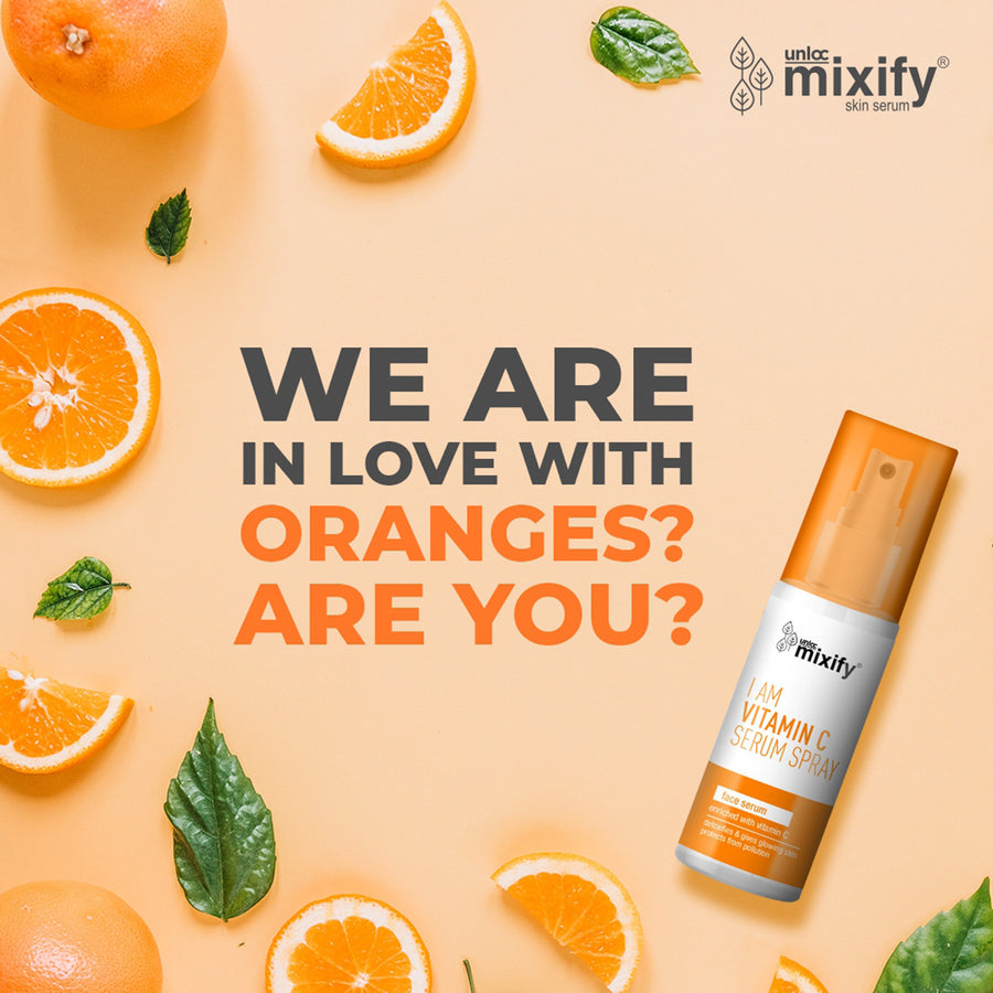 Mixify Unloc Vitamin C Serum Spray - 40ml