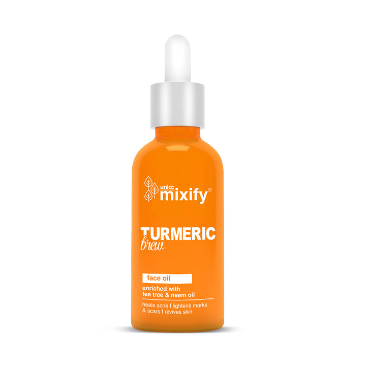 Unloc Mixify Turmeric Brew Face Oil - 30ml