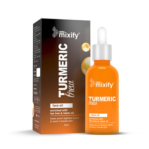 Unloc Mixify Face Oil Combo - Charcoal Brew Face Oil + Turmeric Brew Face Oil