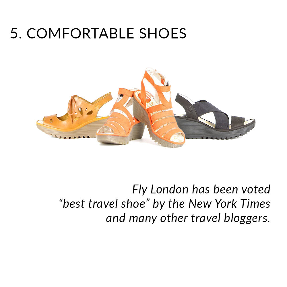 Fly London Shoes voted best travel shoe
