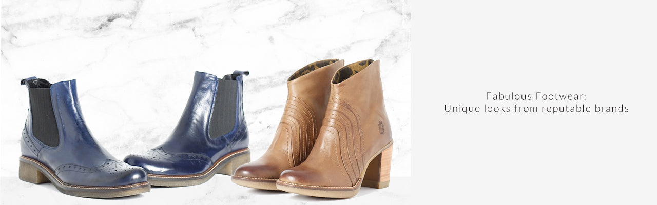Shoes and Boots at Bergstrom Originals